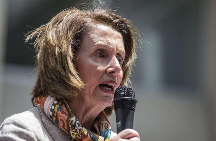 Go Home Nancy Pelosi, The UK Doesn't Want you – Video